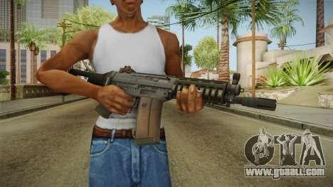 Battlefield 4 SG553 Assault Rifle for GTA San Andreas third screenshot