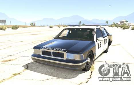 Police car from GTA San Andreas for GTA 5