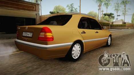 Mercedes-Benz W202 C230 for GTA San Andreas left view