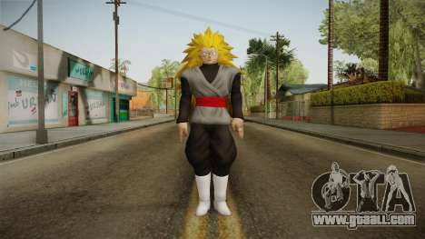 DBX2 - Goku Black SSJ3 v2 for GTA San Andreas second screenshot