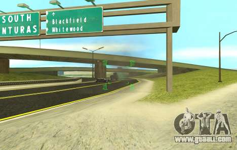A new sight for rifles and bazookas for GTA San Andreas