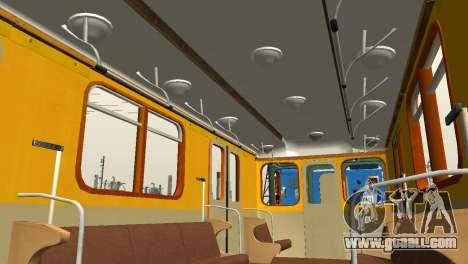 Metrostav type E for GTA San Andreas bottom view