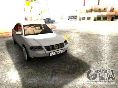 Volkswagen Passat B5 GVR for GTA San Andreas right view