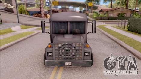Bus from GTA 3 for GTA San Andreas inner view