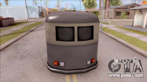 Bus from GTA 3 for GTA San Andreas back left view