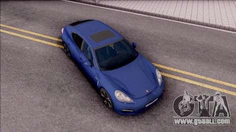 Porsche Panamera Turbo 2009 for GTA San Andreas right view