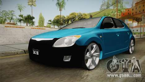 Hyundai i30 Double Color for GTA San Andreas right view