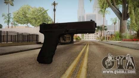 Glock 17 3 Dot Sight White for GTA San Andreas second screenshot