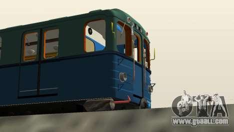 Metrostav type E for GTA San Andreas right view