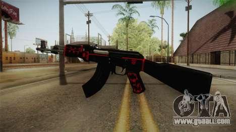 CF AK-47 v5 for GTA San Andreas third screenshot