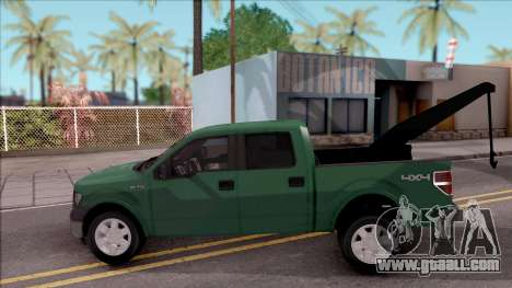 Ford F-150 Towtruck for GTA San Andreas left view