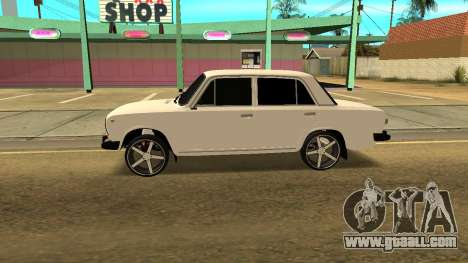 VAZ 2101 Tuning for GTA San Andreas left view