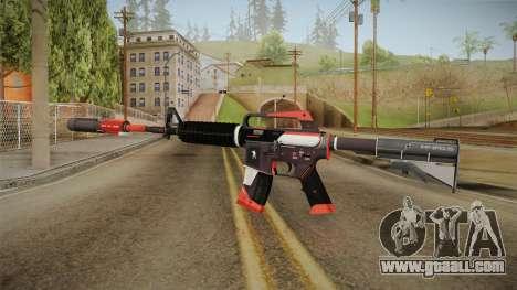 CS:GO - M4A1-S Cyrex for GTA San Andreas second screenshot