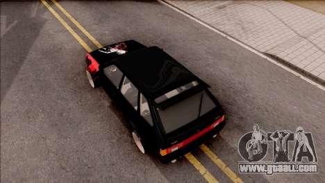 Lada 2109 for GTA San Andreas back view