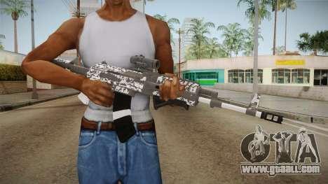 Gunrunning Assault Rifle v2 for GTA San Andreas third screenshot