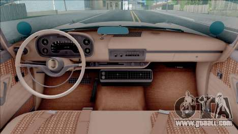Plymouth Fury 1958 HQLM for GTA San Andreas inner view