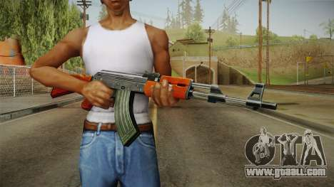 CF AK-47 v1 for GTA San Andreas third screenshot
