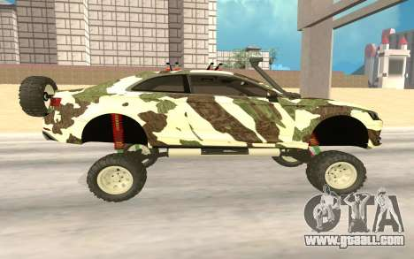 Audi S5 Off Road for GTA San Andreas left view