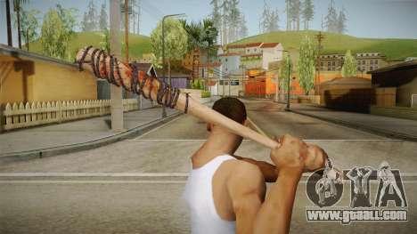 Lucille Negan Baseball Bat The Walking Dead for GTA San Andreas