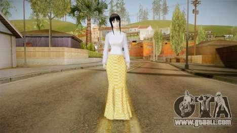 Kebaya Girl Skin for GTA San Andreas second screenshot