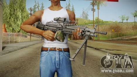 M249 Light Machine Gun v5 for GTA San Andreas third screenshot