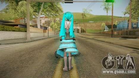 Xsetus Miku Skin v1 for GTA San Andreas third screenshot