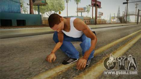Military Animations 2016 for GTA San Andreas fifth screenshot
