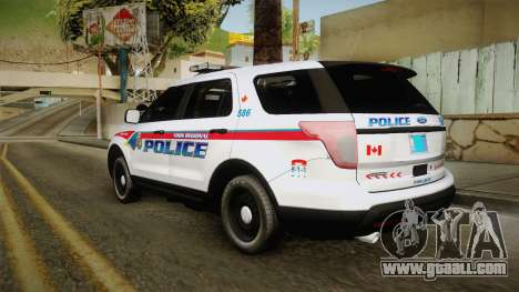 Ford Explorer 2012 YRP for GTA San Andreas left view