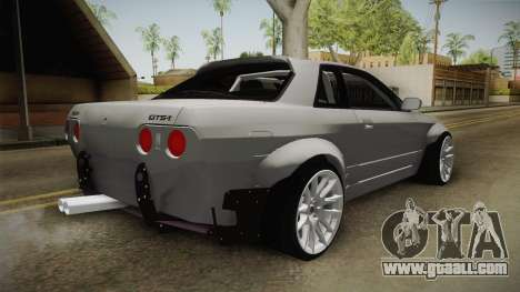 Nissan Skyline R32 Rocket Bunny for GTA San Andreas right view