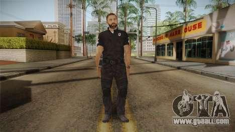 Serbian Border Police Skin for GTA San Andreas second screenshot
