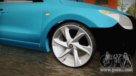 Hyundai i30 Double Color for GTA San Andreas back view