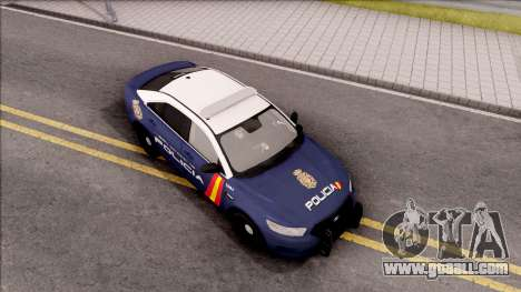 Ford Taurus Spanish Police for GTA San Andreas right view