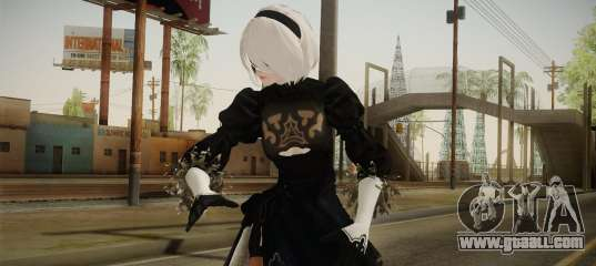 2B in a Kaine suit from Nier: Automata for GTA San Andreas
