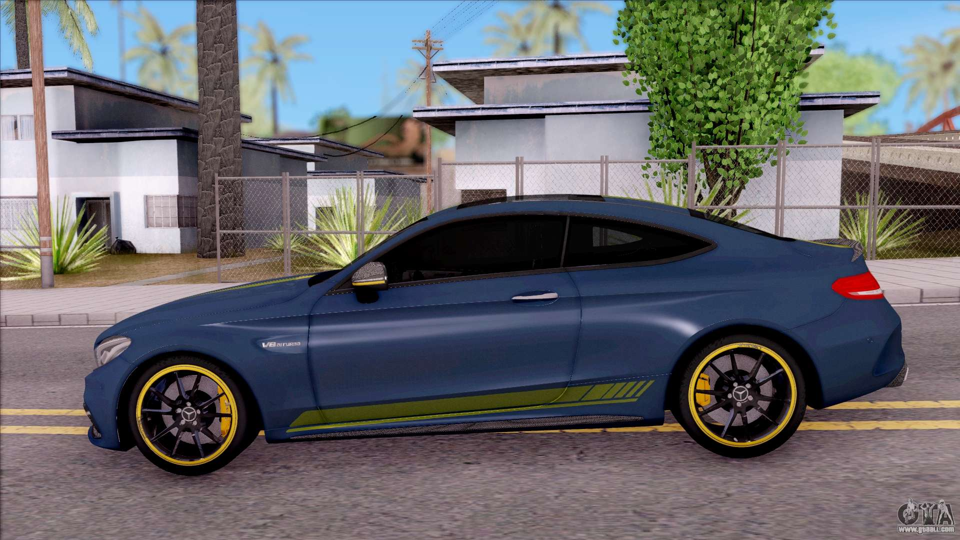 Mercedes Benz C63s Amg Coupe 2016 V3 For Gta San Andreas