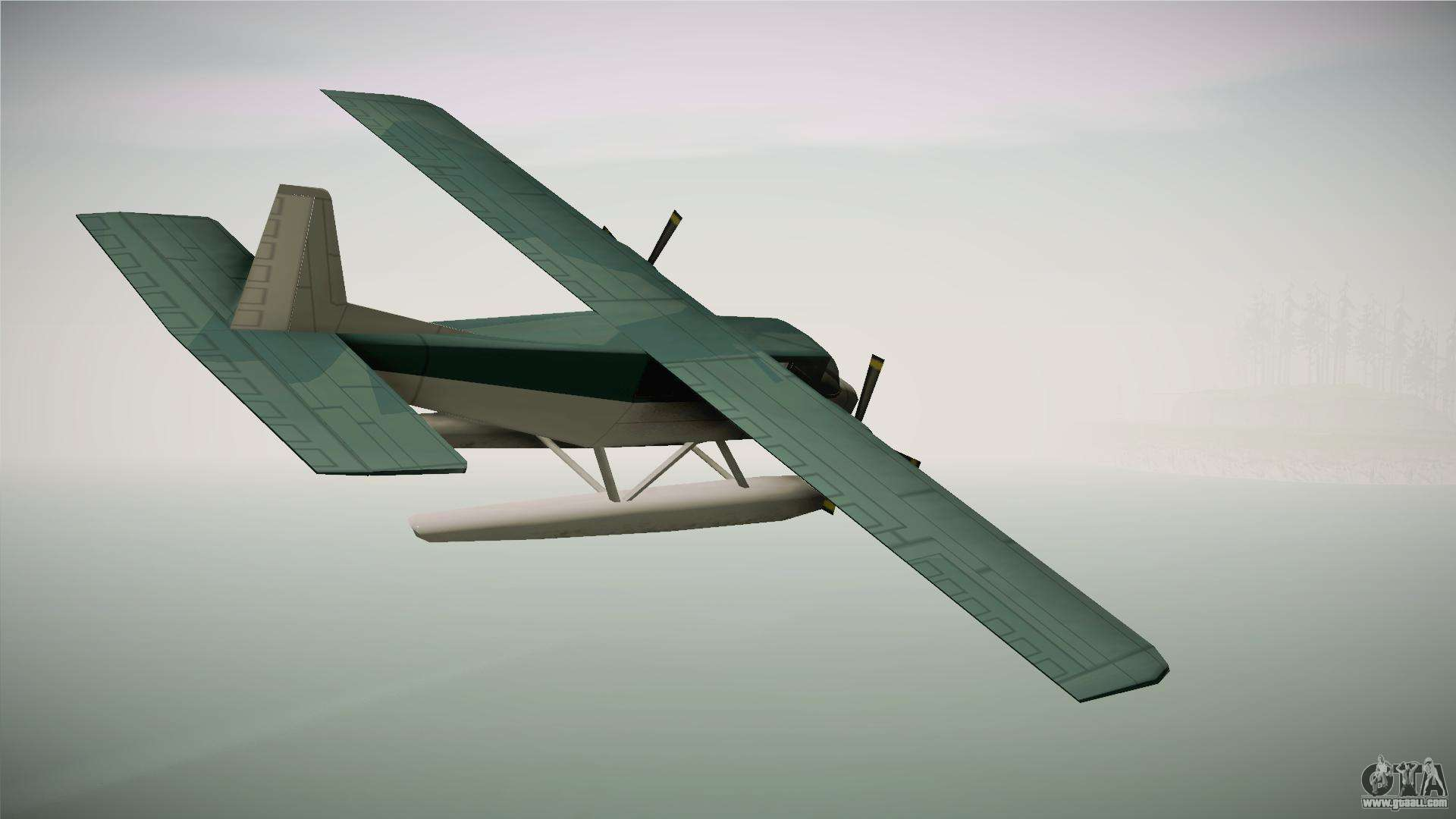 Beagle Sea Plane for GTA San Andreas