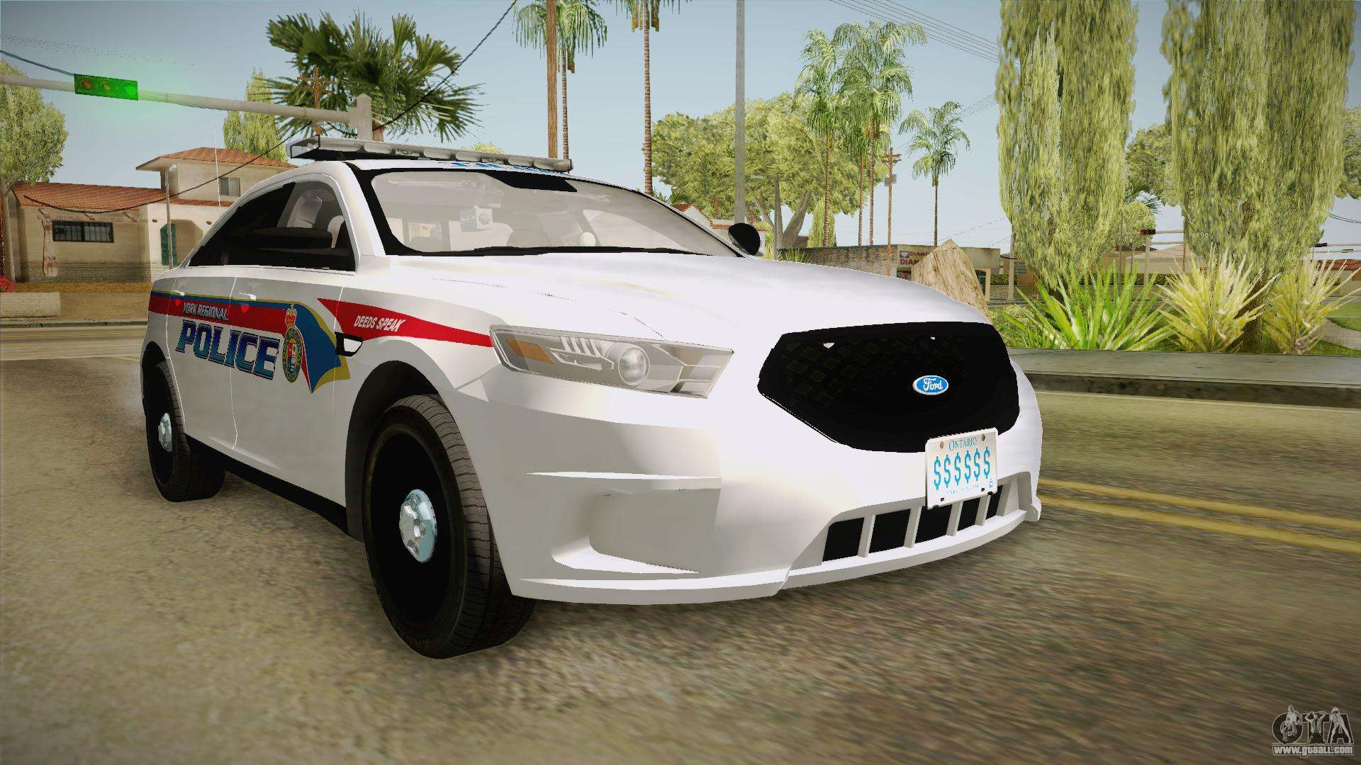 ford taurus 2014 yrp for gta san andreas