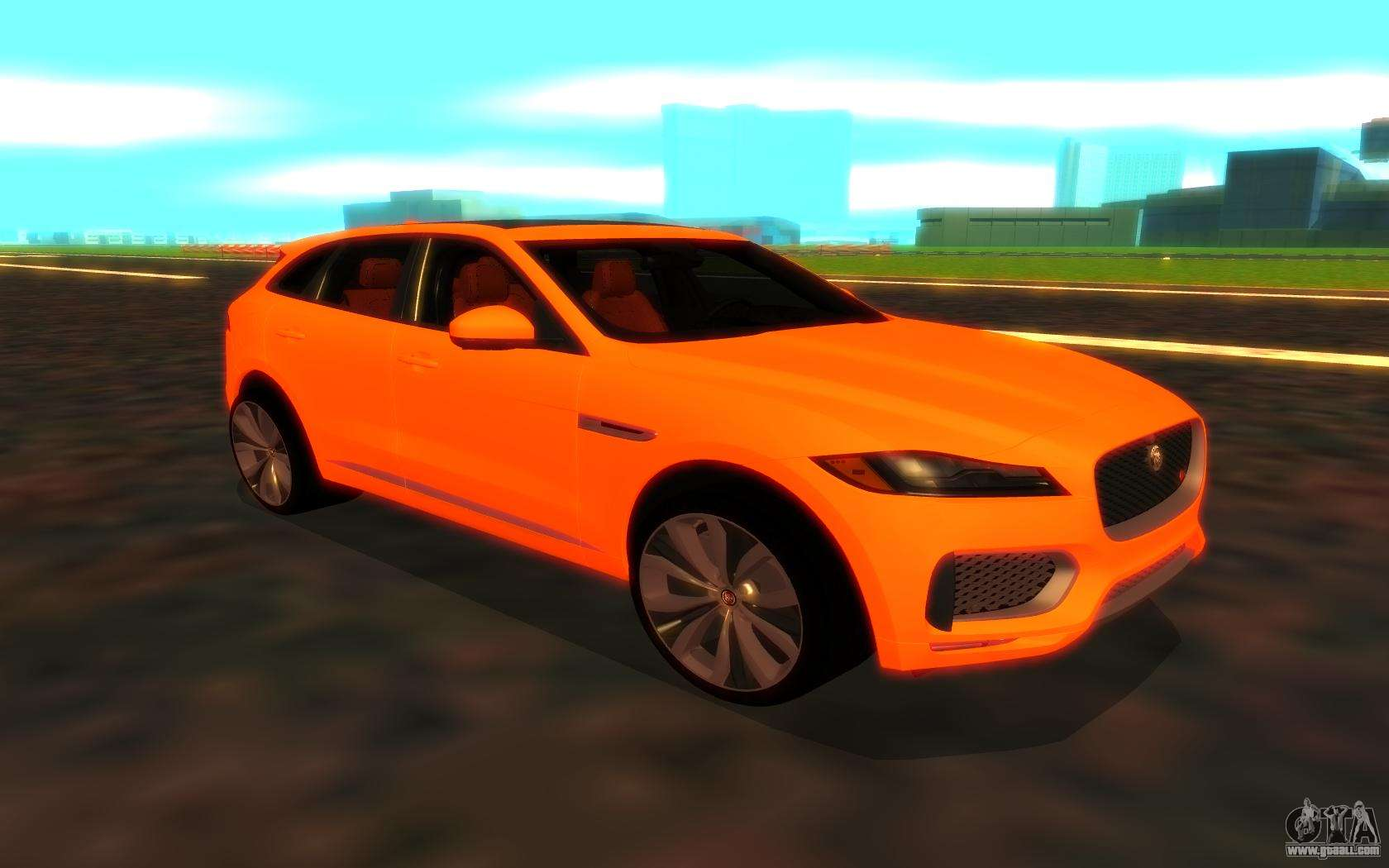 jaguar f pace for gta san andreas. Black Bedroom Furniture Sets. Home Design Ideas