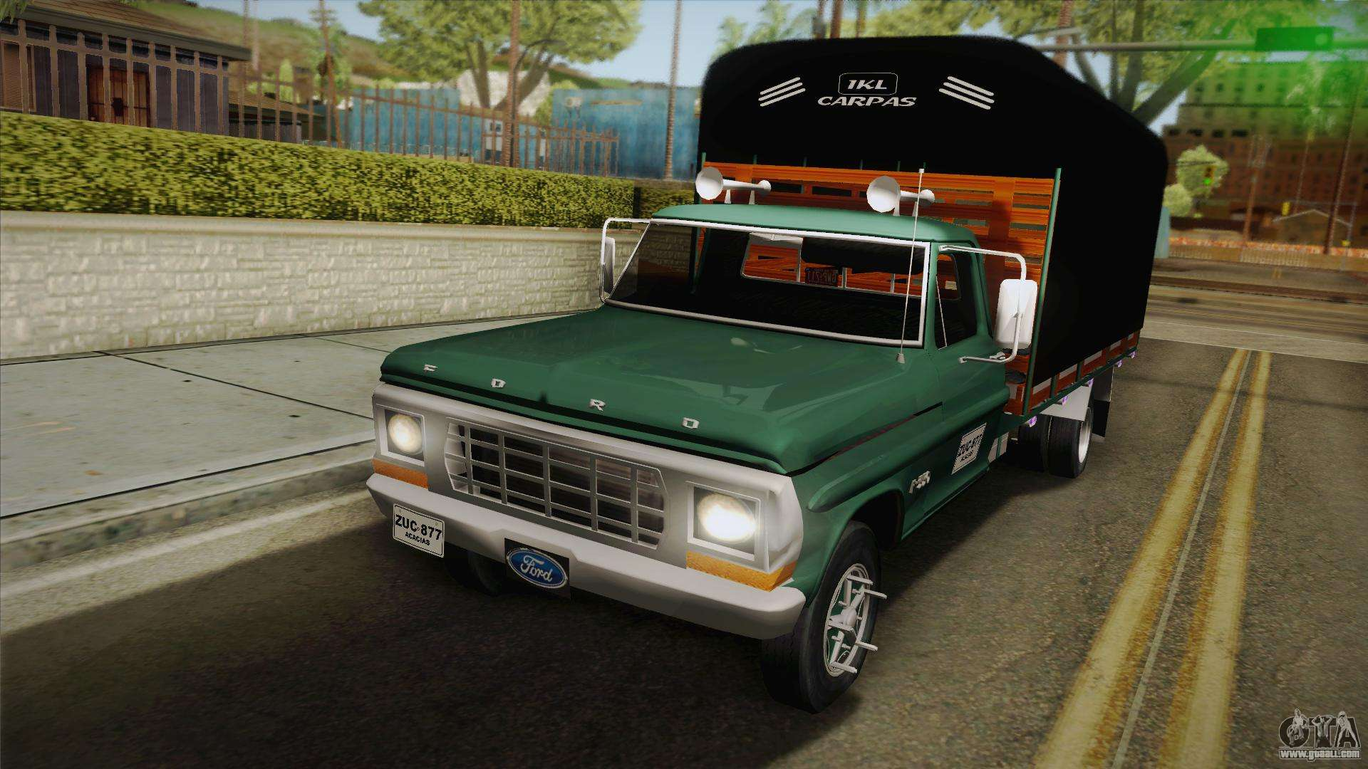 Ford F 350 1978 For Gta San Andreas
