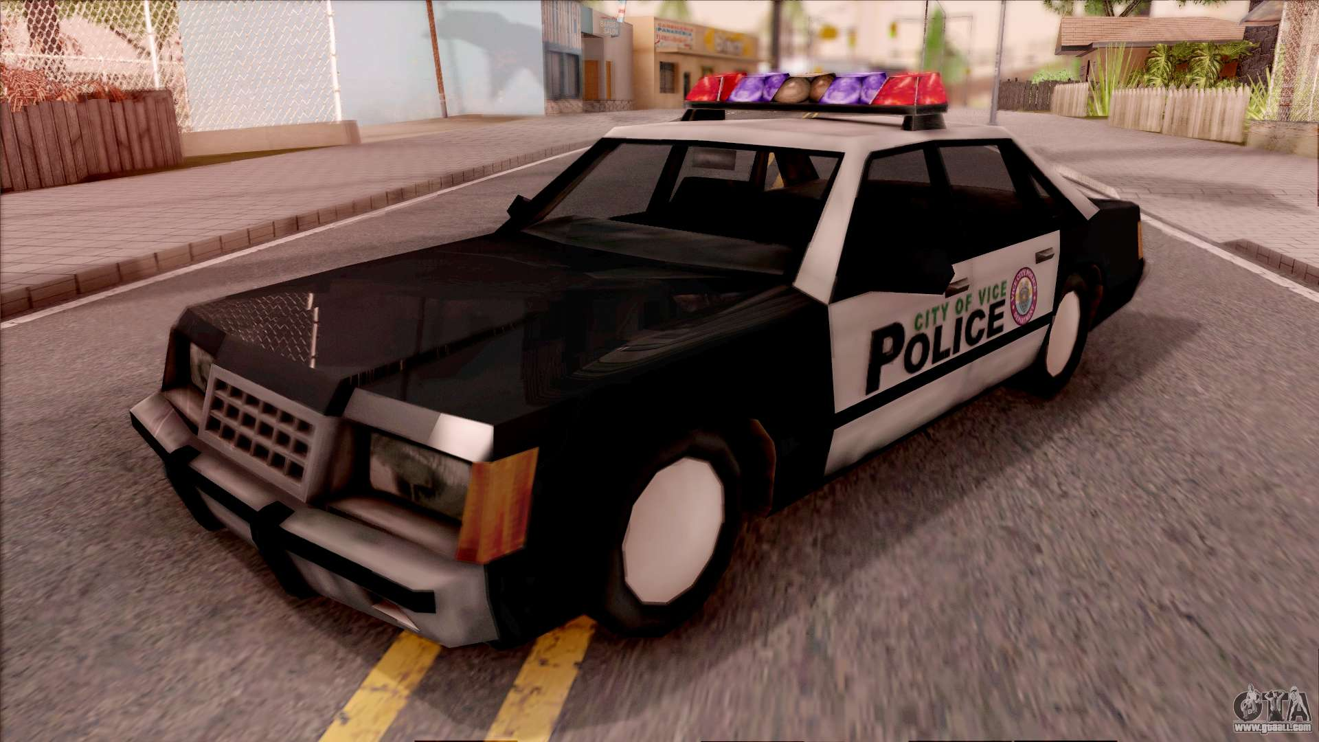 Vice City Police Car for GTA San Andreas