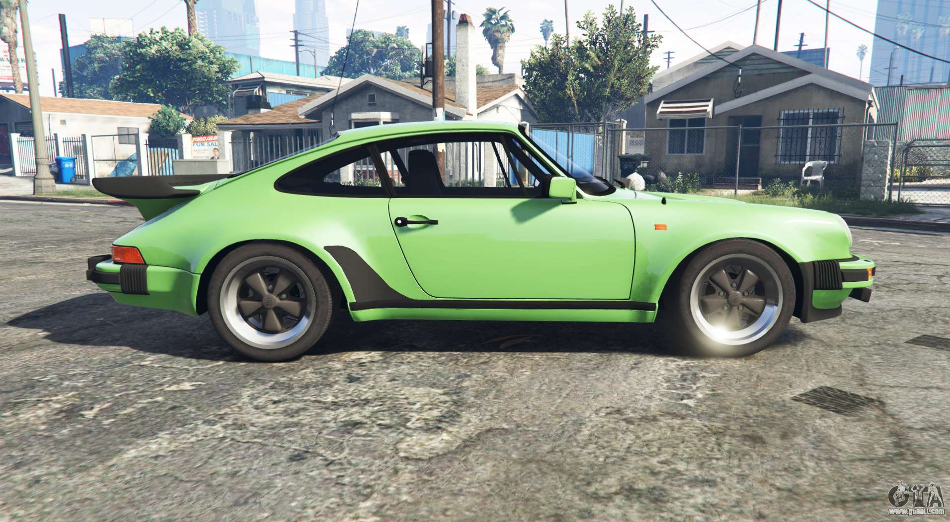porsche 911 turbo 3 3 930 1982 replace for gta 5. Black Bedroom Furniture Sets. Home Design Ideas