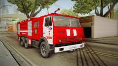 KamAZ 53212 Fire truck in the city of Arzamas