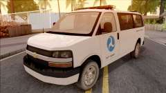 Chevrolet Express San Andreas DOT 2010 for GTA San Andreas