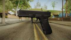 Glock 17 3 Dot Sight Yellow for GTA San Andreas