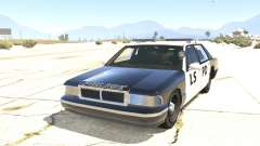 Police car from GTA San Andreas