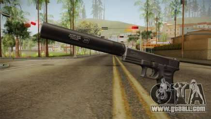 Glock 17 Silenced v2 for GTA San Andreas