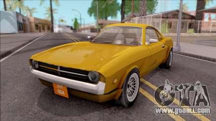 Driver PL Brooklyn V.2 for GTA San Andreas