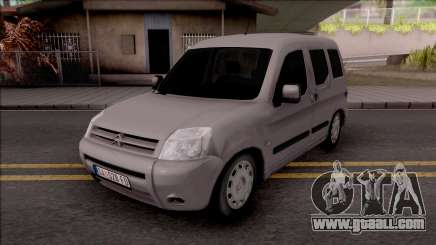 Citroen Berlingo Mk2 for GTA San Andreas