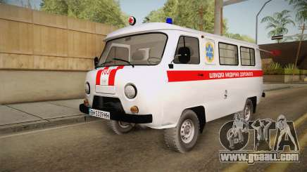 UAZ-452 Ambulance of the city of Odessa for GTA San Andreas