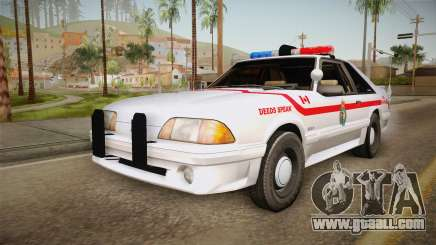 Ford Mustang SSP 1993 YRP for GTA San Andreas