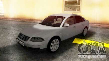 Volkswagen Passat B5 GVR for GTA San Andreas